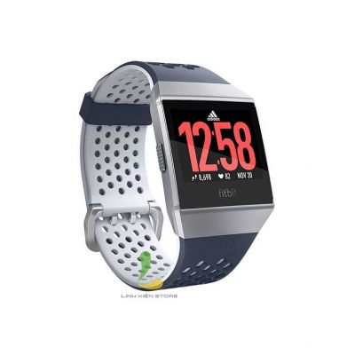 Đồng hồ thông minh Fitbit Ionic Adidas Edition Ink Blue Ice Gray /Silver Gray