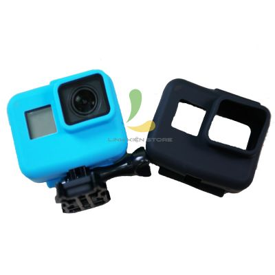 ỐP SILICON CHỐNG SỐC CHO GOPRO HERO 5, HERO 6