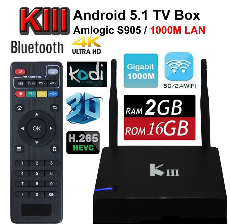 ANDROID TV BOX K3