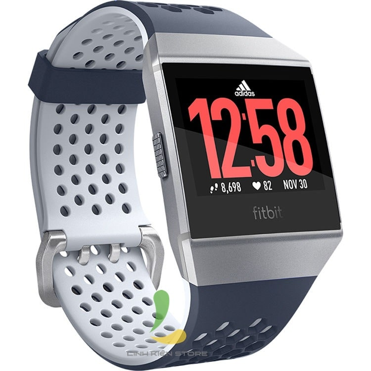 Fitbit Ionic Adidas Edition Ink Blue Ice Gray /Silver Gray