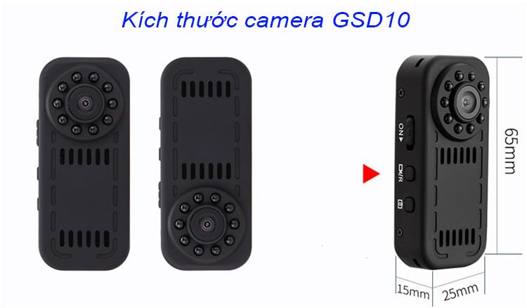 Kết quả hình ảnh cho camera gsd10