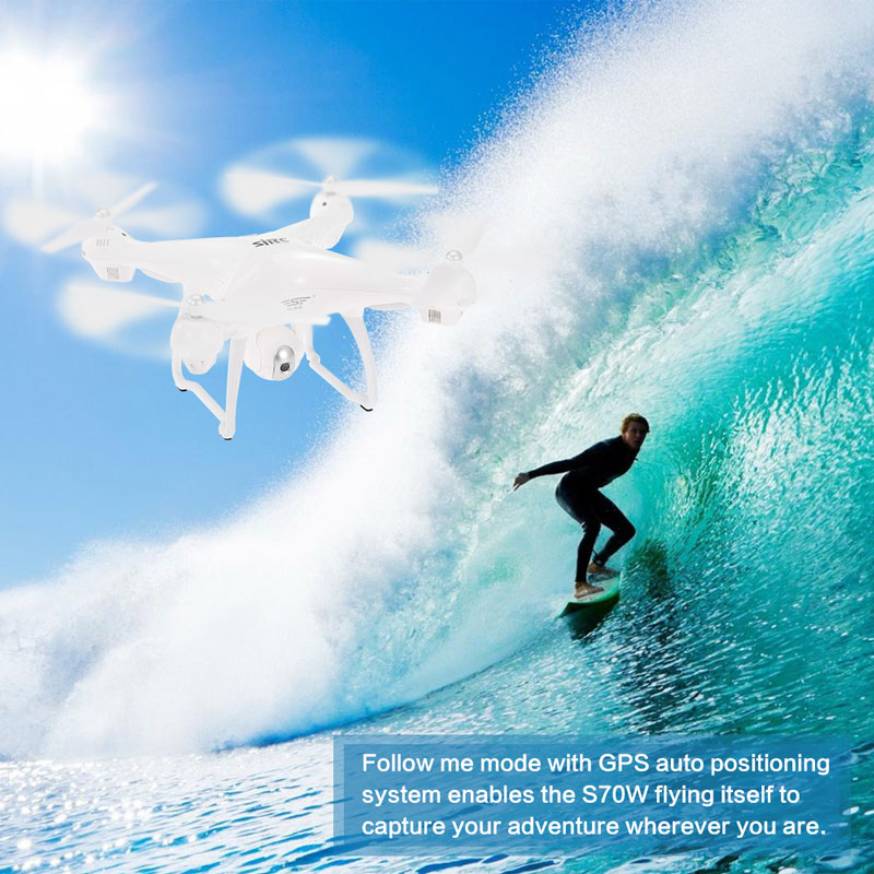 Flycam SJRC S70W Follow me
